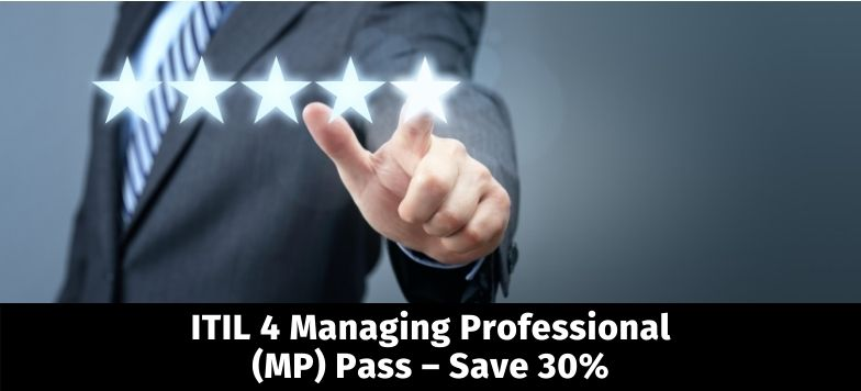 ITIL 4 Managing Professional MP Pass Banner