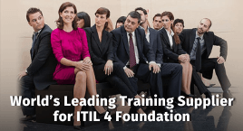 World Leading Training Supplier ITIL 4 Foundation