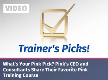 Pink consultants share theirfavorite pink training course banner