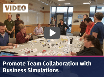Promote team collaboration with devops and itil 4 business simulations
