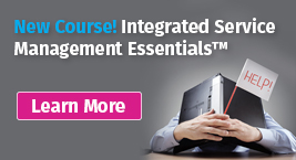 Integrated Service Management Essentials – Pink Elephant