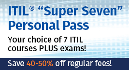 ITIL 'Super Seven' Pass