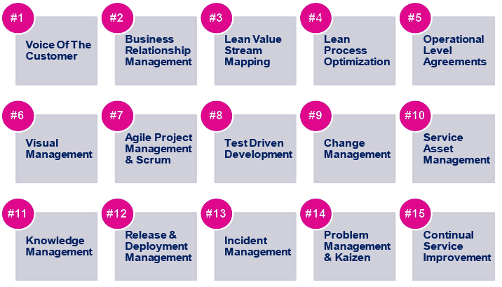 15 Essential Practices For DevOps Success – Pink Elephant