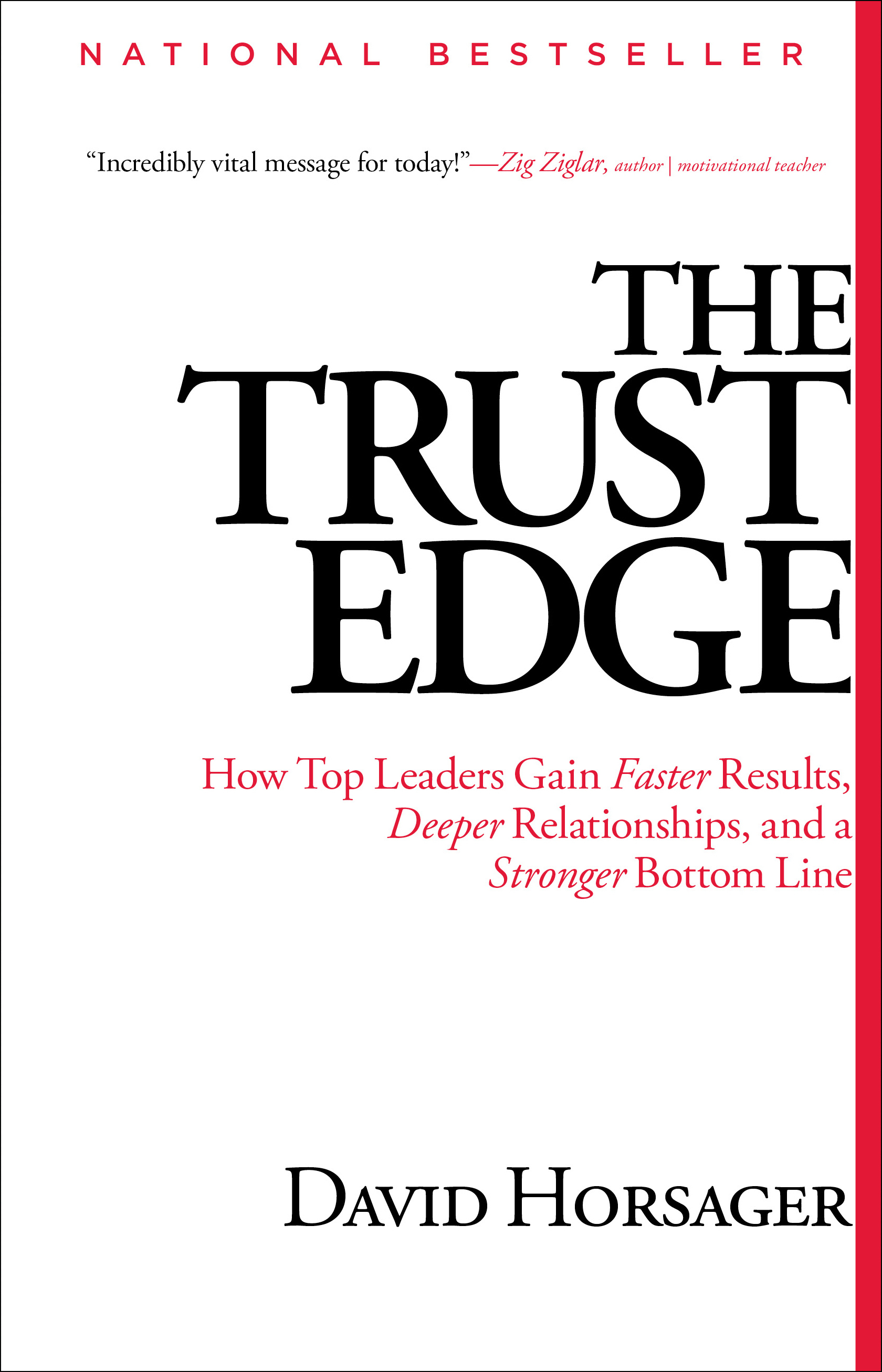 The Trust Edge - David Horsager
