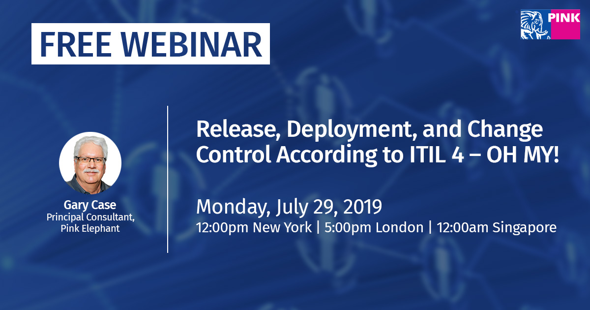 Release, Deployment, and Change Control According to ITIL 4 – OH MY!